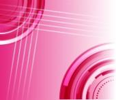 Fond abstrait rose — Vecteur