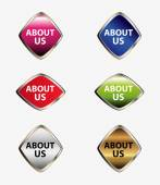 Web icon set About us — Stock vektor