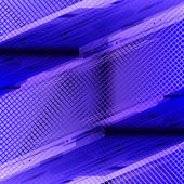 Blue abstract tech grid background — Stock Photo