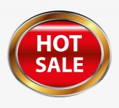 Vector hot sale button — Stock Vector