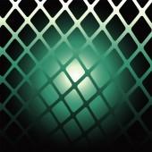 Abstract Dark green background — Stock Vector