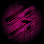 Abstract dark purple technical background — Stockvector