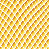 Yellow wavy background with grid — Stock Vector