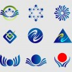 formas abstractas insignia — Vector de stock  #60957069