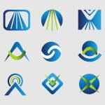 Design elements. Logo templates pack — Stock Vector #60957877