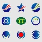 Logo icons set vector — Stock Vector #60958333