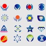 Logo set icon symbol element — Stock Vector #60958347