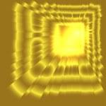 See burst light on golden — Stock Photo #62939363