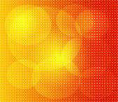 Orange dot background abstract — ストック写真