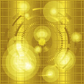 Yellow grid background — Stock Photo