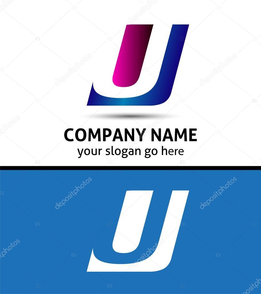 alphabetical logo design concepts letter u stock vector alphabetical logo design concepts letter u stock illustration
