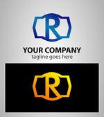 6 番のロゴ。ベクトル ロゴタイプ デザイン. — ストックベクタ