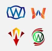Logo di numero 6. Progettazione del logo vettoriale. — Vettoriale Stock