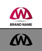 Letter w logo icon design — Stock Vector