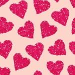 Almond wicker hearts seamless vector print — Stock Vector #71831563