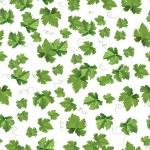 Seedlings leaves seamless pattern — Stock Vector #73455217