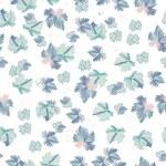 Fantasy leaves seamless pattern — Stock Vector #73455259