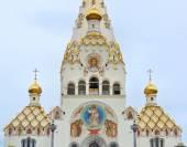 Catedral ortodoxa. templo ortodoxo. — Fotografia Stock
