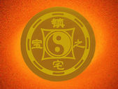 The symbol of Feng Shui. — Stock Photo