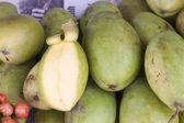 Green mango — Stock Photo