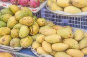Mango market — Stock Photo