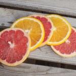 Blood grape and orange — Stock Photo #66787633