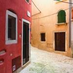 Old streets of Rovinj, Croatia. — Stock Photo #73992123