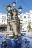 Andalusian village, Spain — Stock Photo