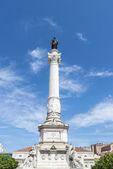 Pedro IV square, Lisbon, Portugal — ストック写真