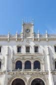 Железнодорожного вокзала Россио в Лиссабоне, Португалия — Стоковое фото