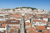 Overview of Lisbon, Portugal — Stock Photo