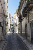 Old town of Lisbon — Stock Photo