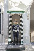 Honour guard in Lisbon, Portugal — Stock Photo