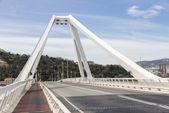Road bridge in Barcelona — Stock Photo
