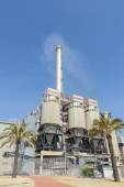 Incinerator plant in Barcelona — Stock Photo