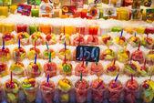 Chopped fruit — Stock Photo