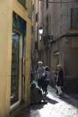 Old Town, Barcelona. — Stock Photo