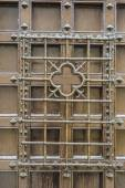 barred window — Stock Photo