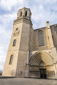 Girona Cathedral, Spain — Stock Photo