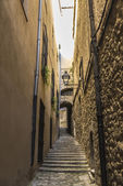 Old town of Girona, Spain — Foto de Stock