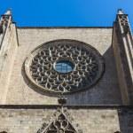 Santa Maria del Mar church in Barcelona — Stock Photo #65686379