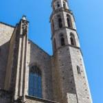 Santa Maria del Mar church in Barcelona — Stock Photo #65686601