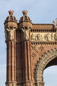 Arc de Triomf, Barcelona — Stock Photo