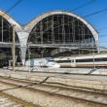 Train Station in Barcelona — Stock Photo #66912039