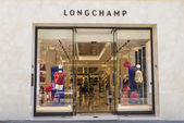 Longchamp shop, Barcelona — Stock Photo