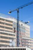Gebouw in aanbouw — Stockfoto