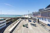 Cruise Terminal in Barcelona — Stock Photo