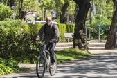 Ciclistas de Barcelona — Foto de Stock
