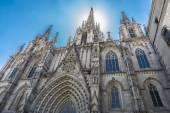 Catedral de Barcelona — Fotografia Stock