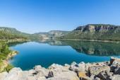 Reservoir in Spain — Stock Photo
